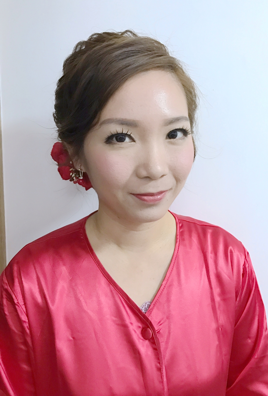 新妝化妝師 wedding bridal makeup hair hk _ching1