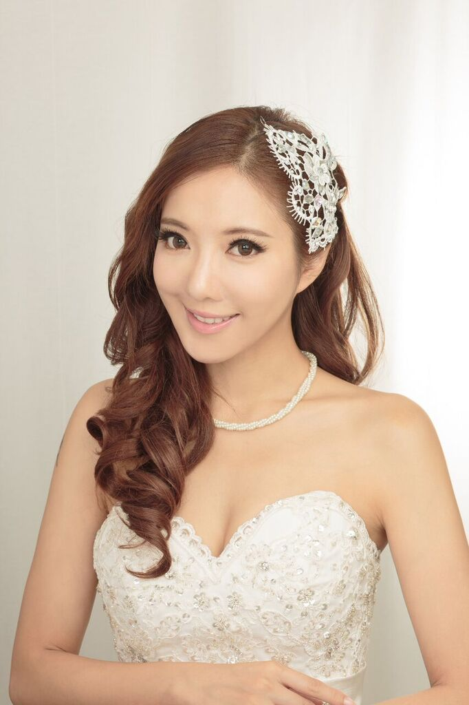 新妝化妝師 wedding bridal makeup hair hk Fiona1