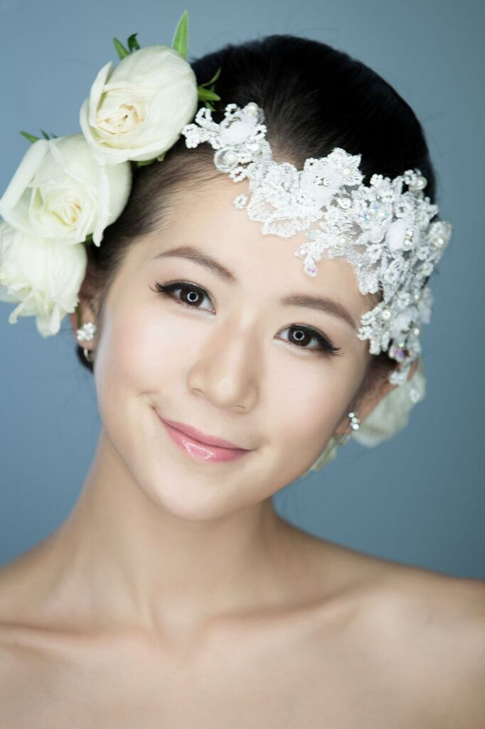 新妝化妝師 wedding bridal makeup hair hk Fiona3