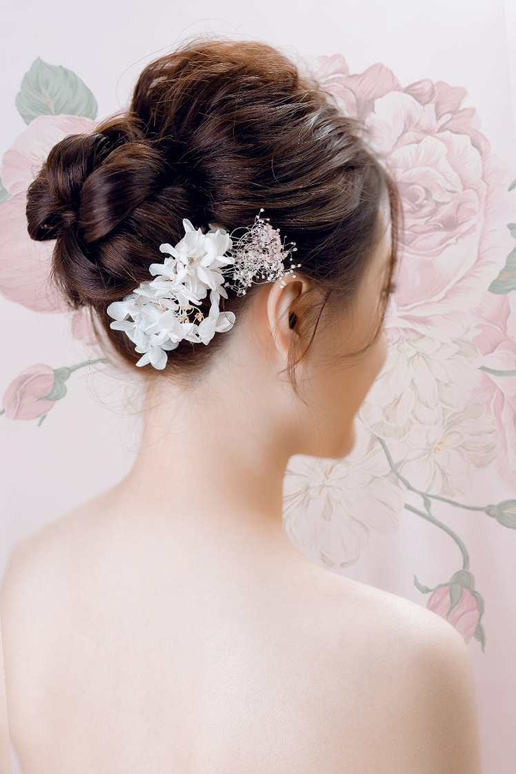 新妝化妝師 wedding bridal makeup hair hk Fiona9