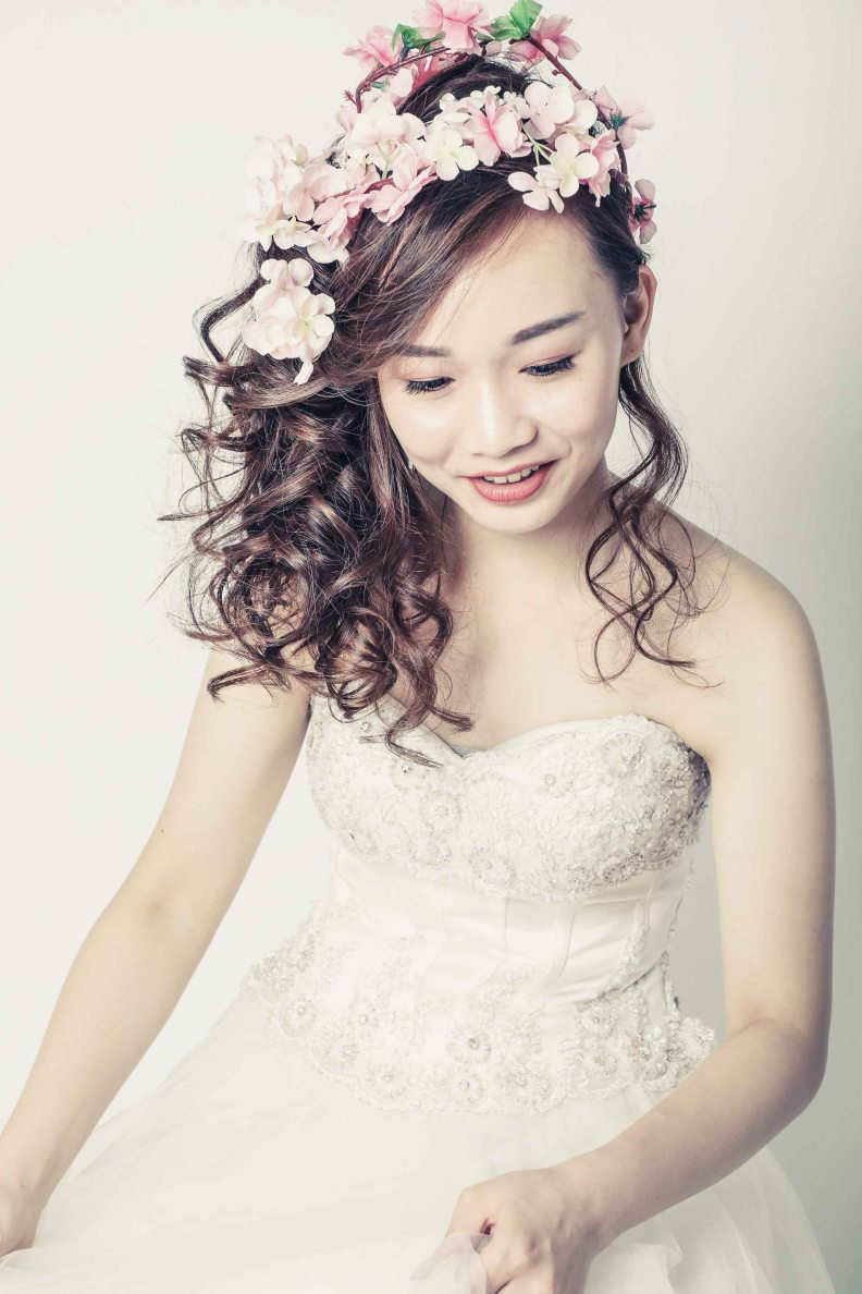 韓式新娘化妝髮型攝影_bridal_wedding_Korea_makeup_hairstyling_Top_MUA_paulstylist_photography_hk_abby