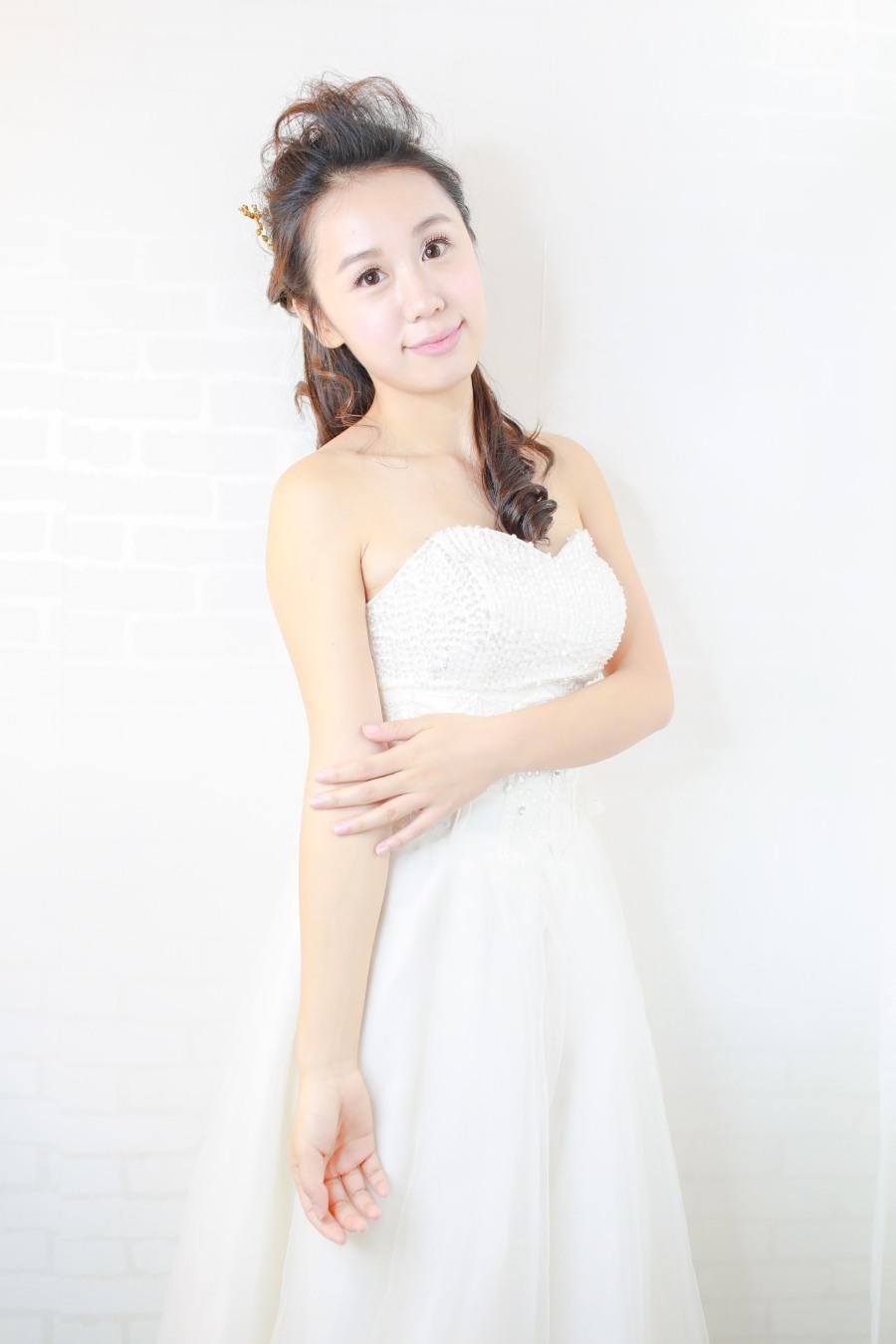 韓式新娘化妝髮型攝影_bridal_wedding_Korea_makeup_hairstyling_Top_MUA_paulstylist_photography_hk_stephanie-4
