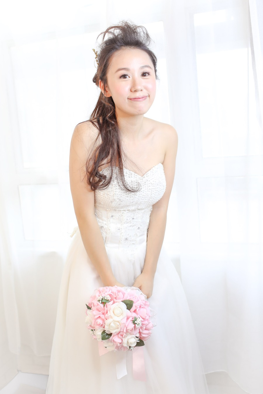 韓式新娘化妝髮型攝影_bridal_wedding_Korea_makeup_hairstyling_Top_MUA_paulstylist_photography_hk_stephanie-7