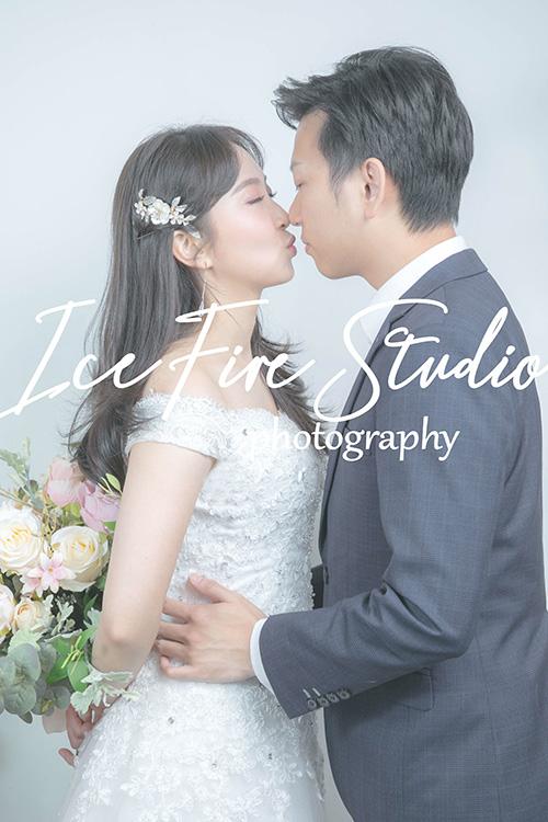 情侶相 wedding couple photography studio shoot photo by ice fire studio-12s