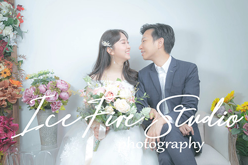 情侶相 wedding couple photography studio shoot photo by ice fire studio-9s
